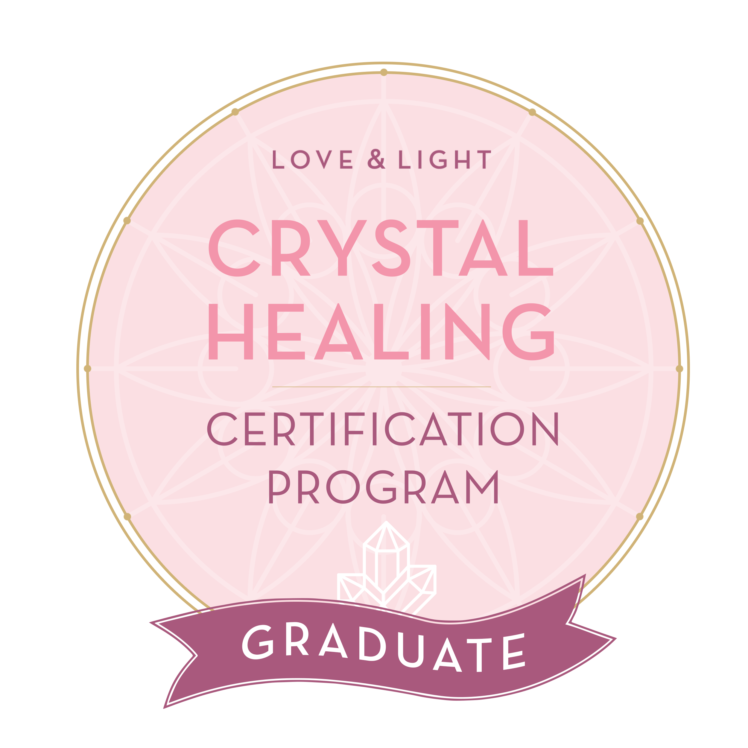 Love & Light Crystal Healing Certificate